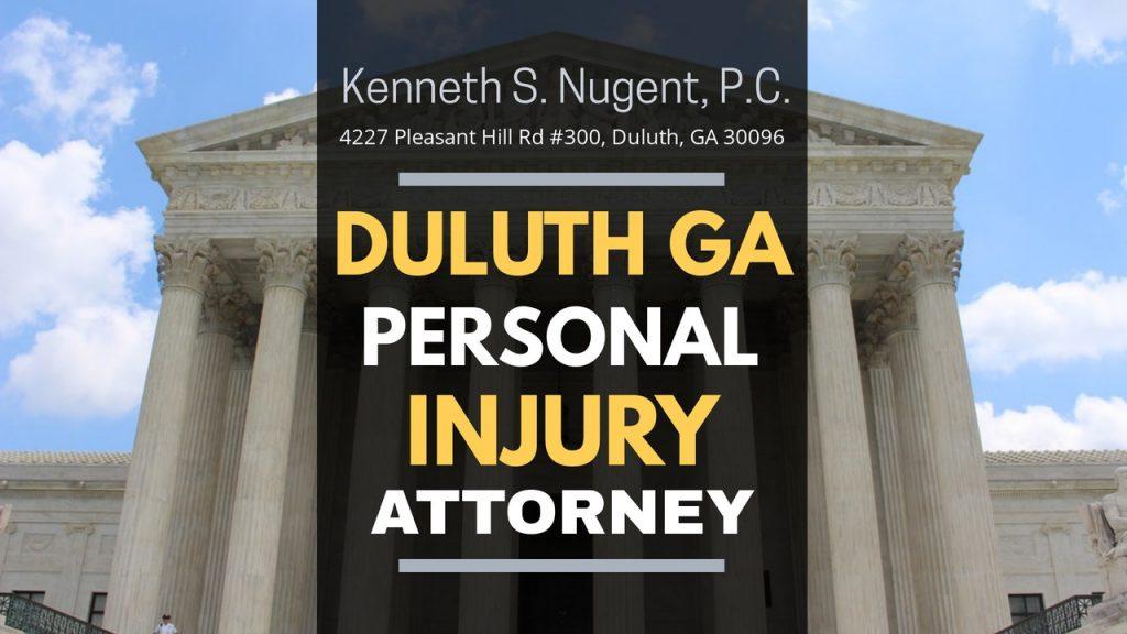 Personal Injury Attorney Duluth GA